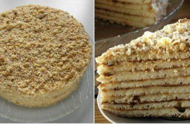 Торт «Світлана» без випічки. За цим рецептом виходить дуже смачний та ніжний