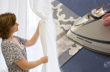Як легко та швидко попрасувати тюль після прання, щоб вона була гарна та рівна