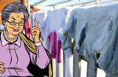 Навіщо сушити одяг на морозі, та чому так завжди робили наші бабусі