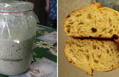 Рецепт смачного та запашного хліба на заквасці. Не кришиться та довго не черствіє