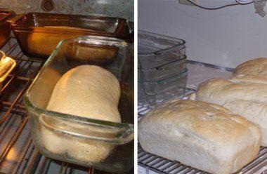 Швидкий та простий рецепт домашнього хліба в духовці без замісу