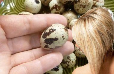 Маска з перепелиних яєць для волосся. Зміцнює корені та зупиняє випадіння