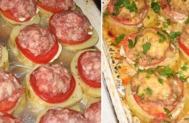 Апетитна та проста в приготуванні страва з фаршу та картоплі. Усі просять добавки