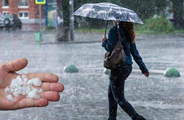 Дощі, грози та град накриють усю Україну. Скільки протримається така погода