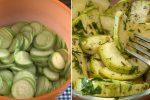 Малосольні кабачки такі ж смачні як й огірки. Готувати їх дуже просто й не потребує багато часу