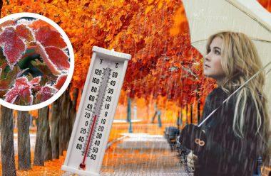 Сильні дощі та мінусова температура на початку жовтня. Синоптики розказали яким буде другий місяць осені