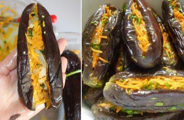 Рецепт квашених баклажанів. Смакота, від якої важко відірватися