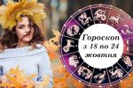Гороскоп для всіх знаків зодіаку на наступний тиждень з 18 по 24 жовтня 2021 року. Яким він буде для кожного з нас