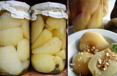 Смачні консервовані груші, в солодкому та прозорому сиропі. Такої смакоти ви ще не пробували
